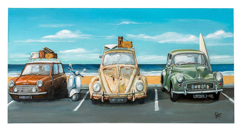Limited Parking Prints - grahamyoungartist.com - Original Artwork and Prints by New Zealand Artist Graham Young