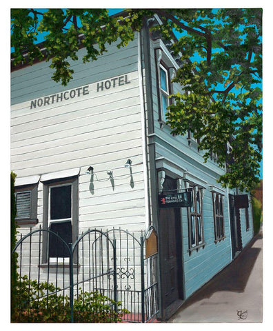 Northcote Tavern Prints - grahamyoungartist.com - Original Artwork and Prints by New Zealand Artist Graham Young