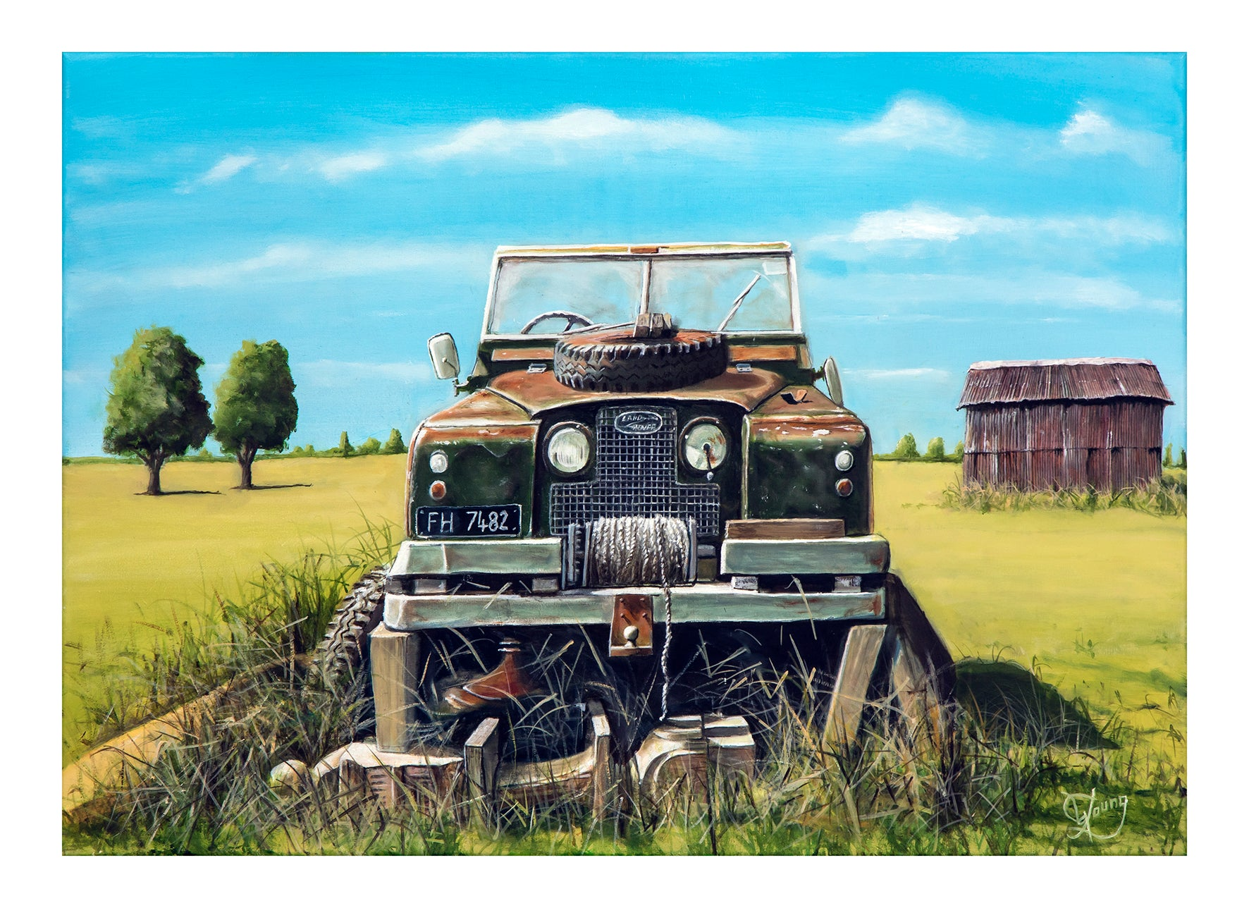 Old Rover - grahamyoungartist.com - Original Artwork and Prints by New Zealand Artist Graham Young