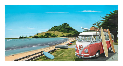 Pilot Bay - grahamyoungartist.com - Original Artwork and Prints by New Zealand Artist Graham Young