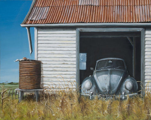 Rural Retreat Prints - grahamyoungartist.com - Original Artwork and Prints by New Zealand Artist Graham Young