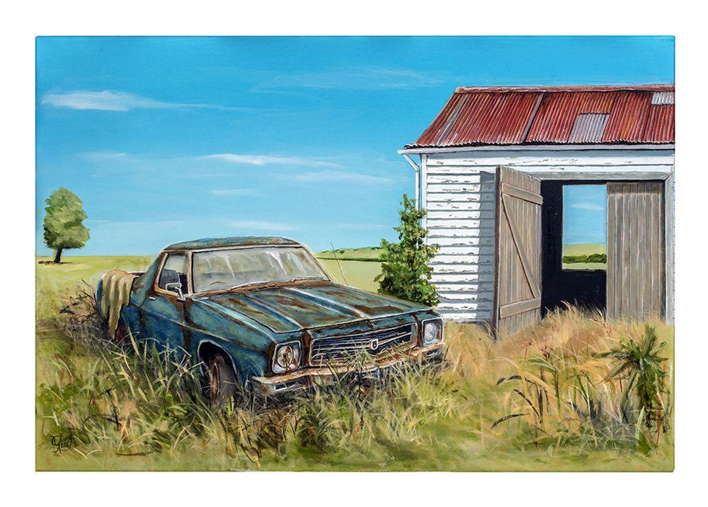 Still Holden Together Prints - grahamyoungartist.com - Original Artwork and Prints by New Zealand Artist Graham Young