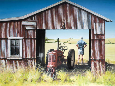 The Red Barn Prints - grahamyoungartist.com - Original Artwork and Prints by New Zealand Artist Graham Young