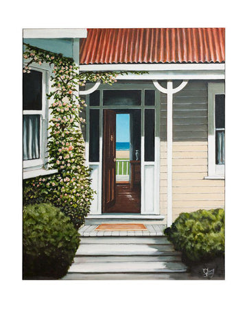 Through The Doorway Prints - grahamyoungartist.com - Original Artwork and Prints by New Zealand Artist Graham Young
