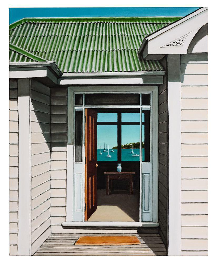 Villa Doorway Prints - grahamyoungartist.com - Original Artwork and Prints by New Zealand Artist Graham Young