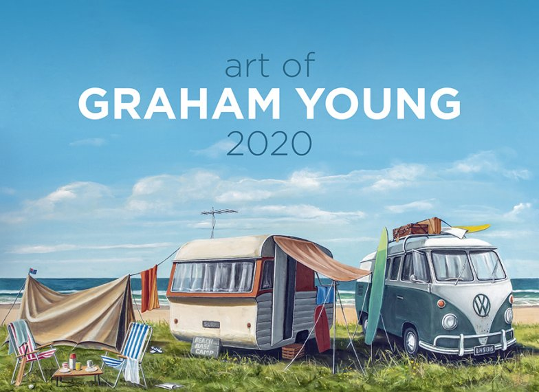 Art of Graham Young 2020 Calendar by Easy2C - grahamyoungartist.com - Original Artwork and Prints by New Zealand Artist Graham Young