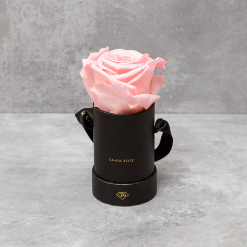Single Black Box (Blush Pink Rose)
