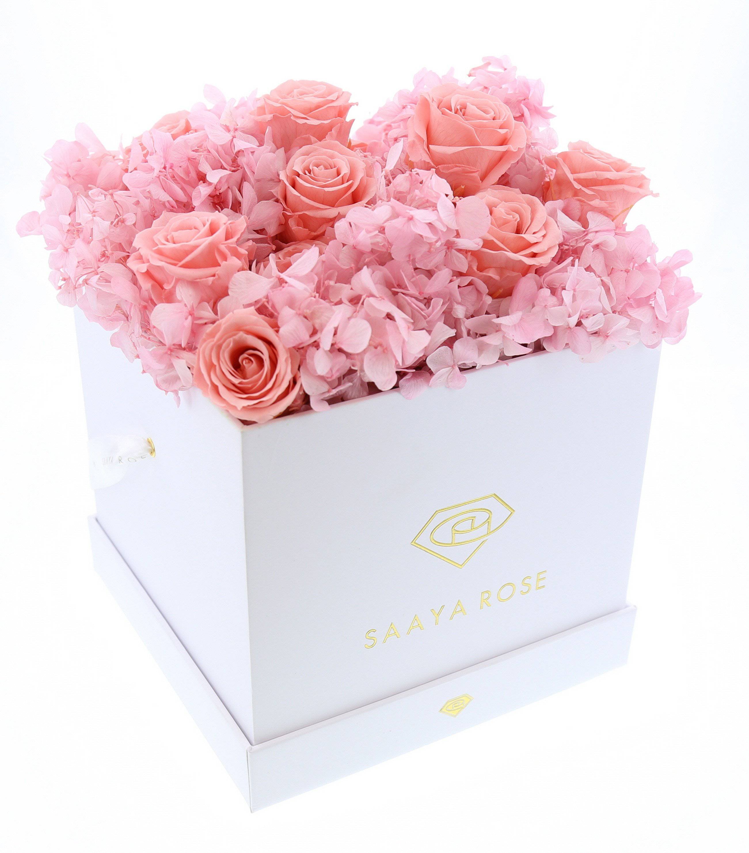 Hydrangea Rose Box (large)