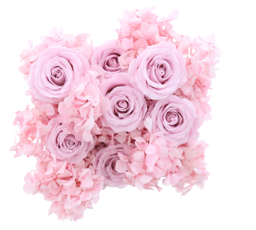 Hydrangea Rose Box (medium) - Saaya Rose