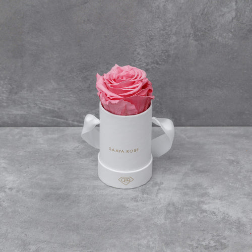 Single White Box (Deep Pink Rose)