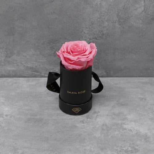 Single Black Box (Deep Pink Rose)