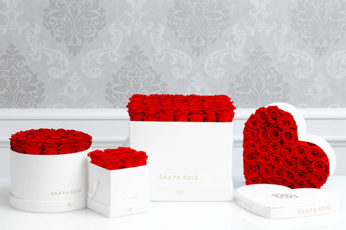 My Dearest Valentine (4 Items, Suede Boxes)