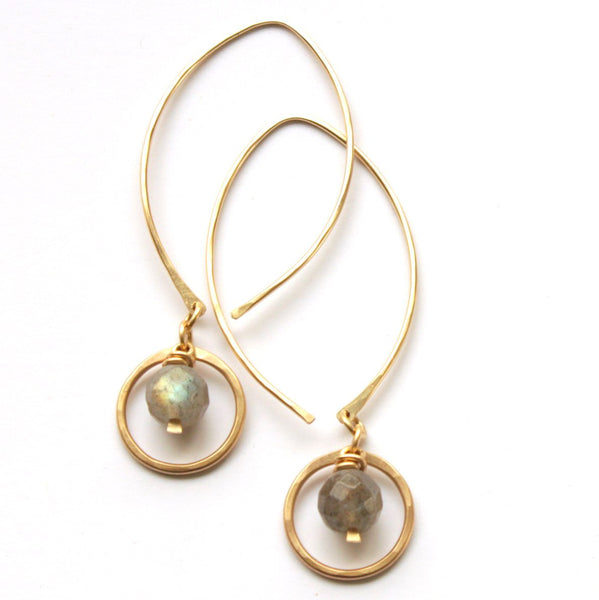 Sparkly Bauble earrings - Jamison Rae Jewelry
