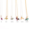 Birthstone Dangle necklace