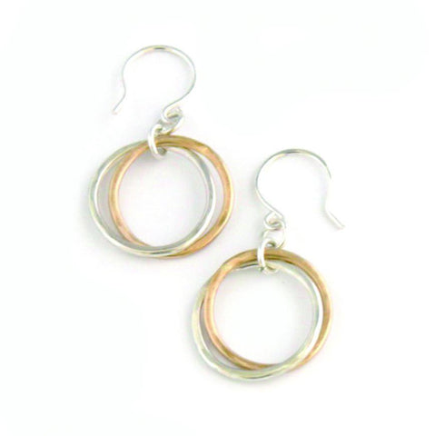 Eternity earrings - Jamison Rae Jewelry