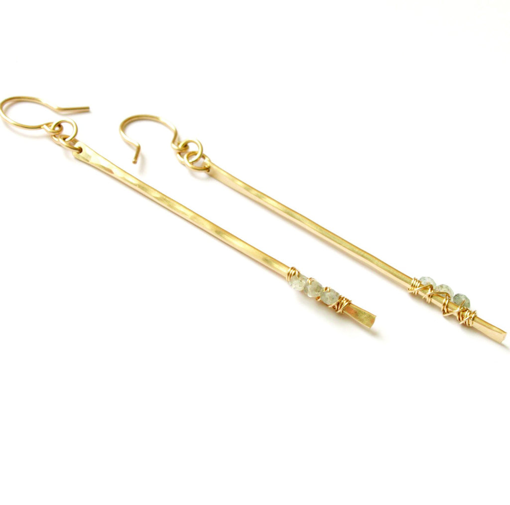 Pixie Sticks earrings