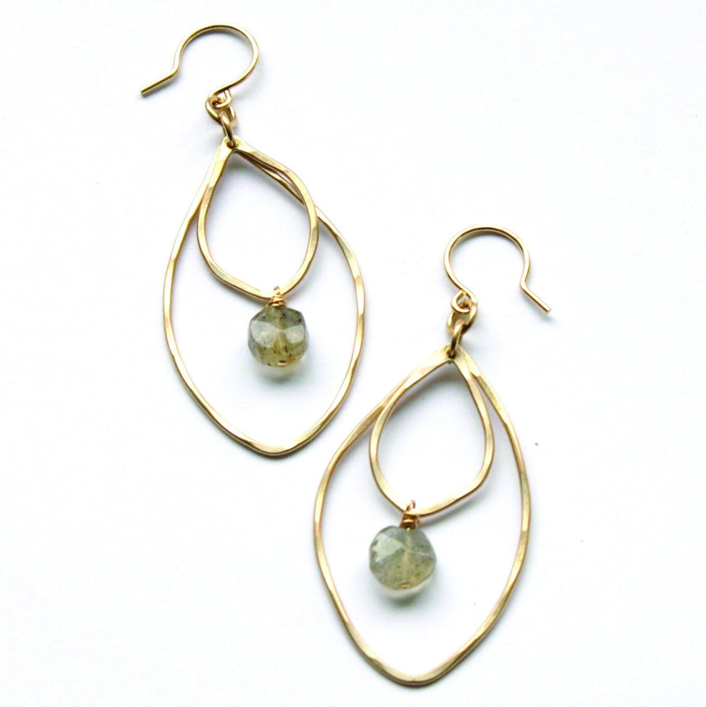 Dew Lilly earrings - Jamison Rae Jewelry