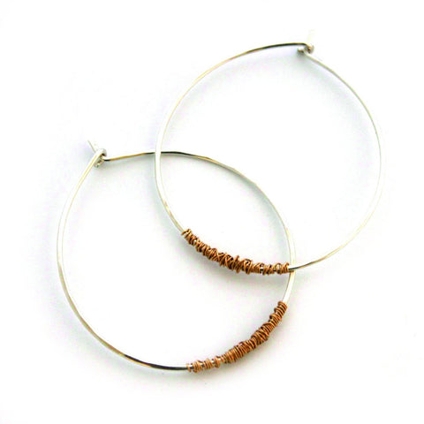 All Mixed Up Hoops - Jamison Rae Jewelry