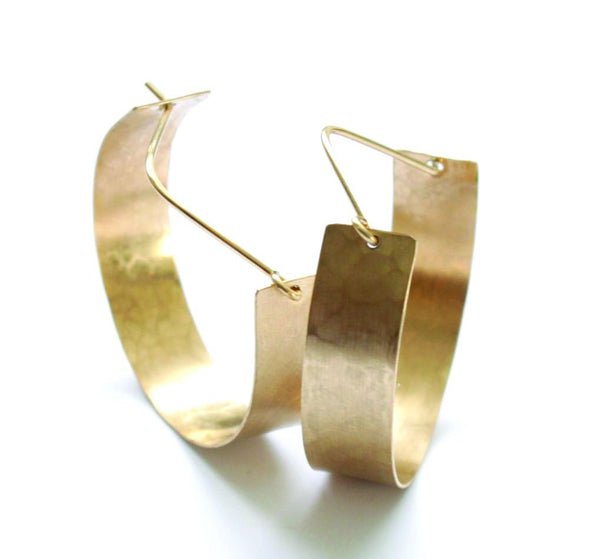 True to Form hoops - Jamison Rae Jewelry