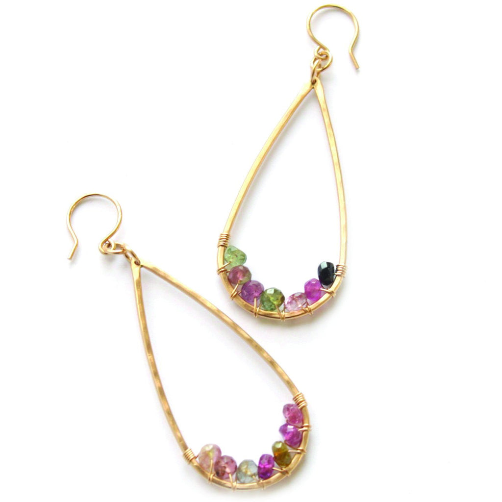 Garden Party earrings - Jamison Rae Jewelry