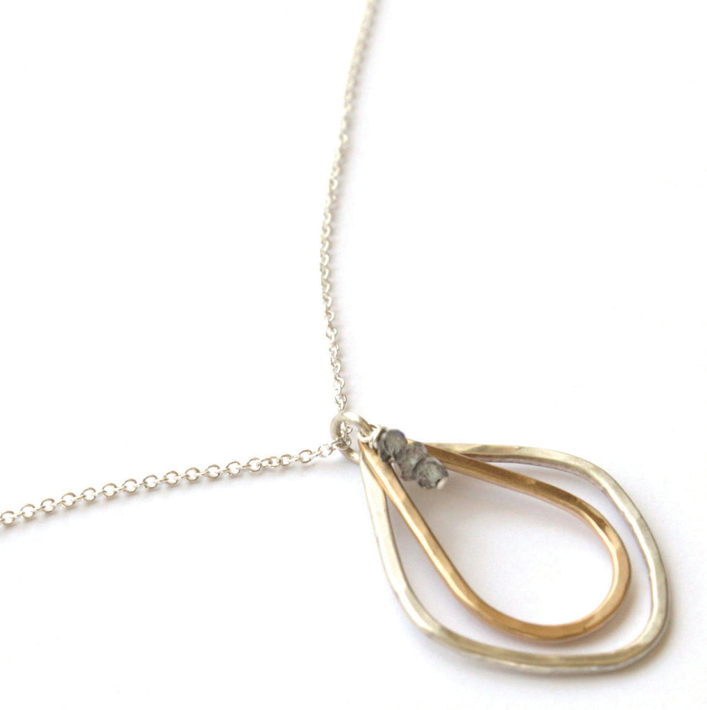 Calla Lily necklace - Jamison Rae Jewelry