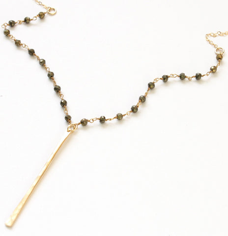 Casual Sophisticate necklace - Jamison Rae Jewelry
