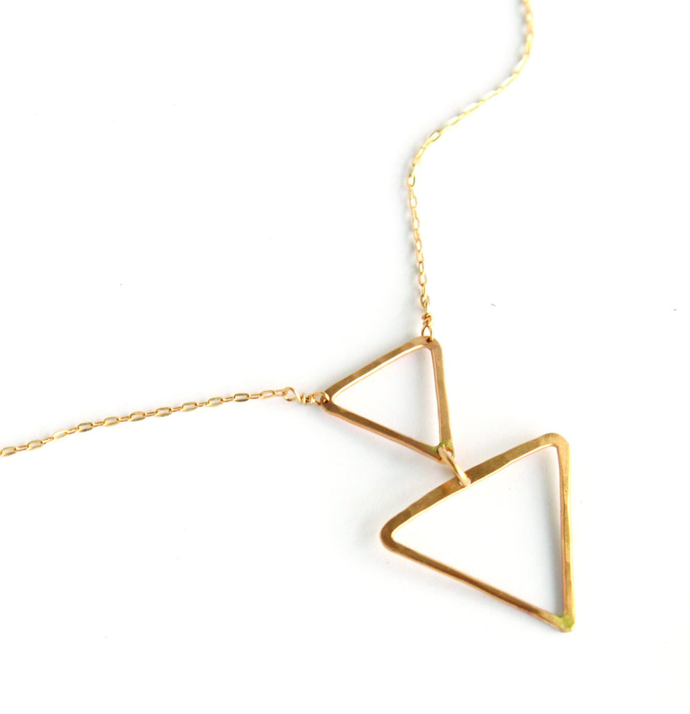 Open Arrow necklace - Jamison Rae Jewelry