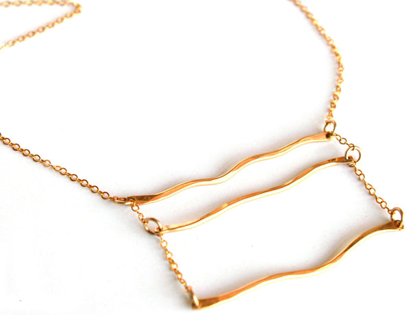 Sandbar necklace - Jamison Rae Jewelry