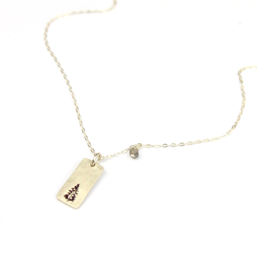 Pine Time necklace - Jamison Rae Jewelry