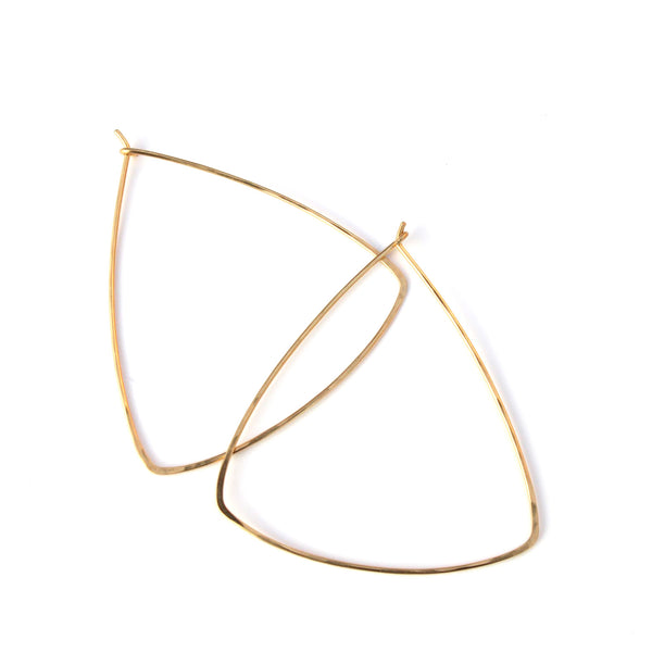 Big Ol' Triangle hoops - Jamison Rae Jewelry