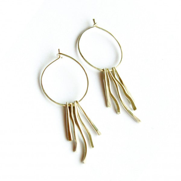 Ariel Hoop earrings - Jamison Rae Jewelry