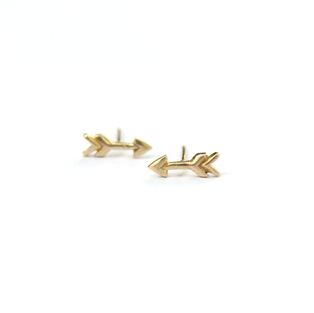 Arrow post earrings - Jamison Rae Jewelry