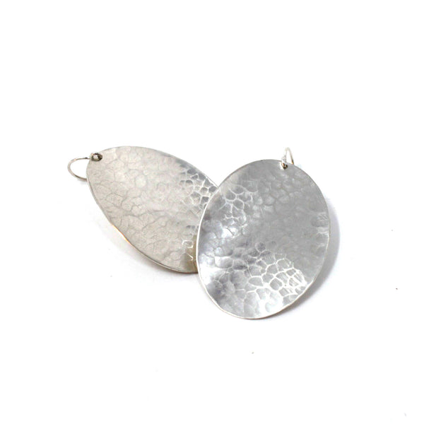 Big A** Oval earrings