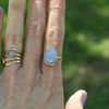 One of a Kind Chalcedony and 14k gold | gold filled ring - Jamison Rae Jewelry