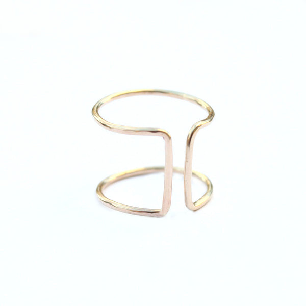 Cuff Ring - Jamison Rae Jewelry
