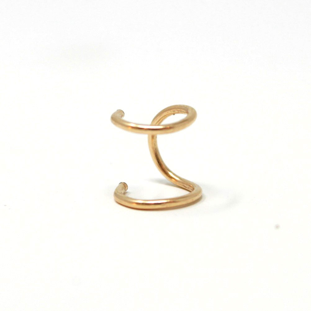 Faux Double Piercing ear cuff