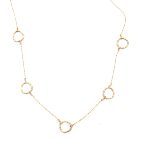 Floating Free Form necklace