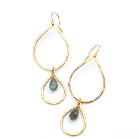 Glow Drop earrings - Jamison Rae Jewelry