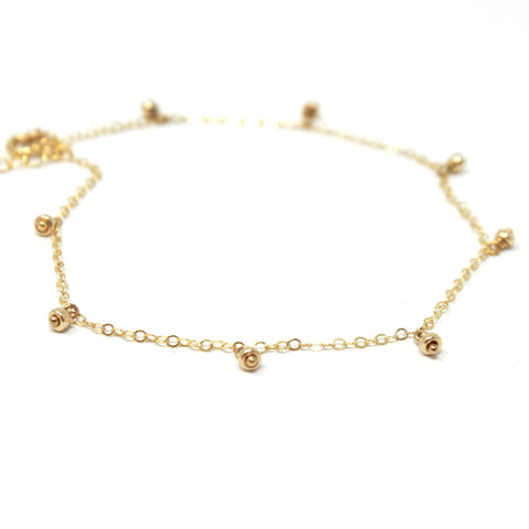Delicate Dangle Anklet