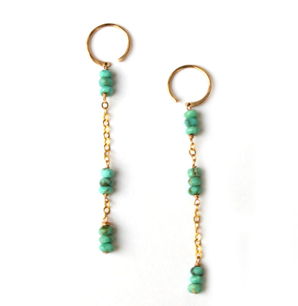 Lobe Hugger Dangle earrings - Jamison Rae Jewelry