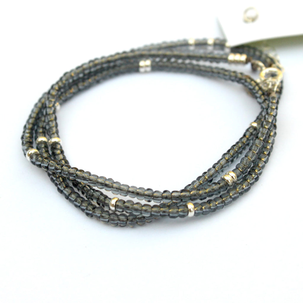 Touch of Shimmer wrap bracelet
