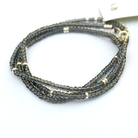 Touch of Shimmer wrap bracelet - Jamison Rae Jewelry