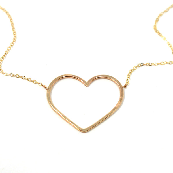 Lead with Love necklace