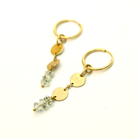October earrings