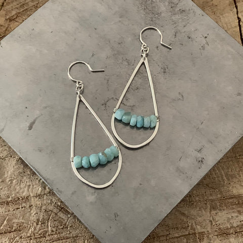 Amazonite Stunner earrings