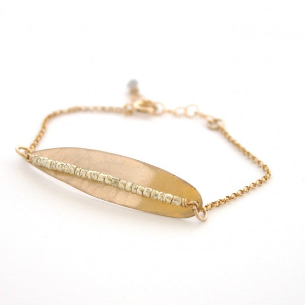 Light as a Feather bracelet