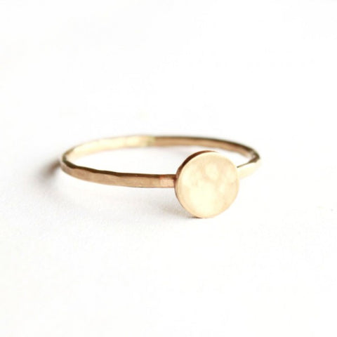 Little Disc ring - Jamison Rae Jewelry