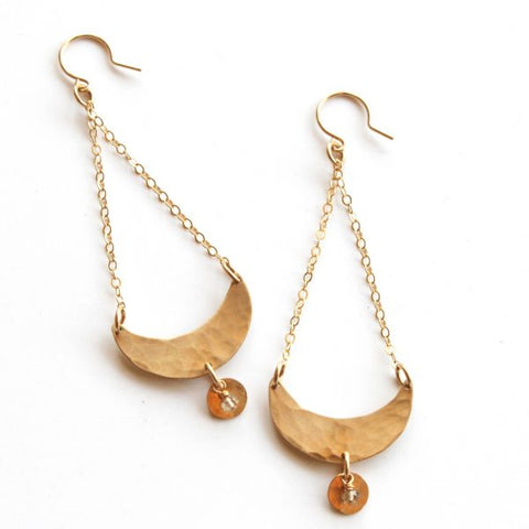 La Luna earrings - Jamison Rae Jewelry