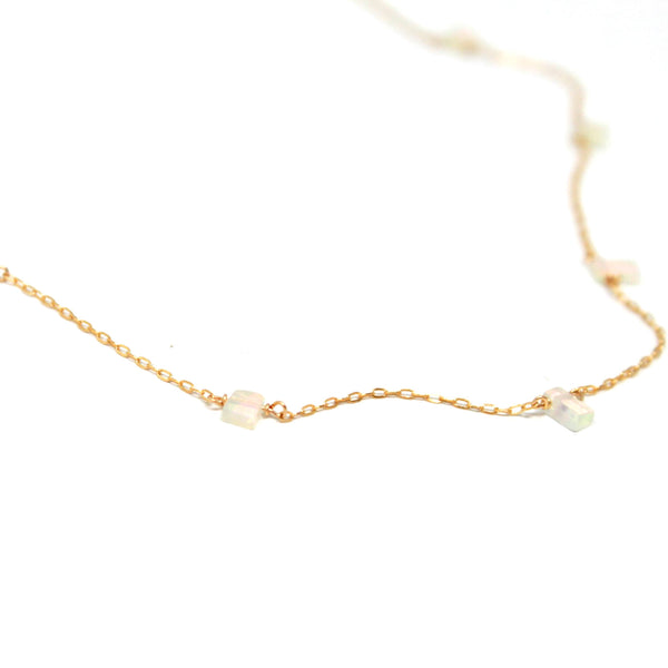 Opal Adornment necklace