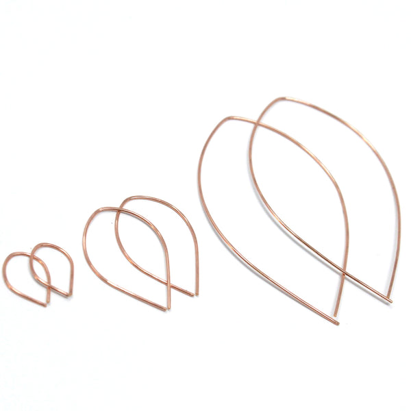 Rosebud threader hoops